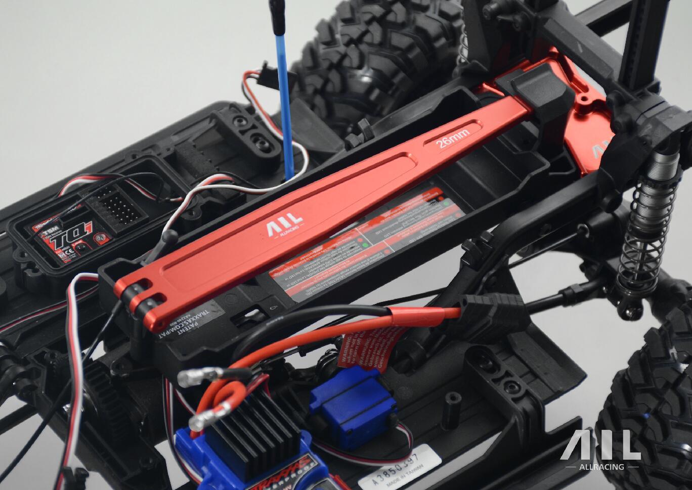 1/10 Rc Car Upgrade Partie Traxxas Trx 4 Trx-4 Escalade Cellule De Batterie De Voiture Plaque De Fixation