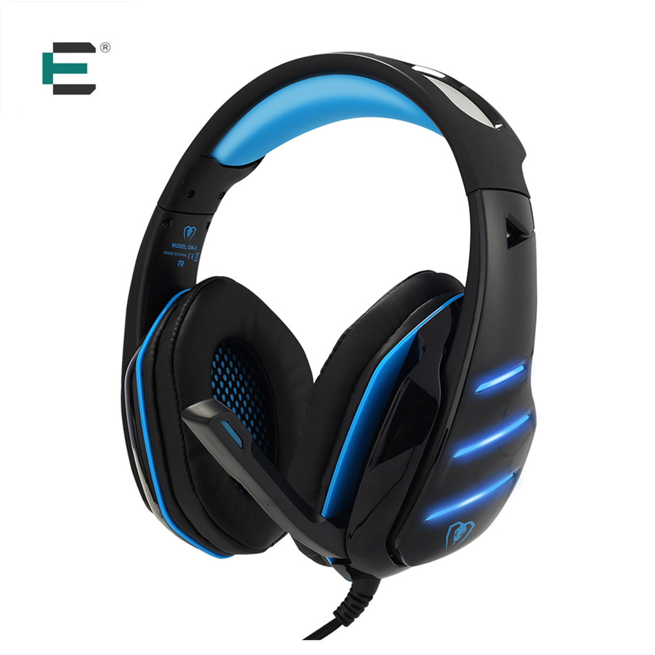 PC Gaming Headset with Mic for PS4 Xbox One S Daping Over Ear Stereo Bass Headphones  Volume Control LED Light  3.5 Jack аксессуары для игровых приставок microsoft xbox one stereo headset