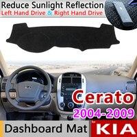 for KIA Cerato LD 2004 2005 2006 2007 2008 2009 Anti Slip Mat Dashboard Cover Pad Sunshade Dashmat Carpet Anti UV Accessories|Car Stickers|   -