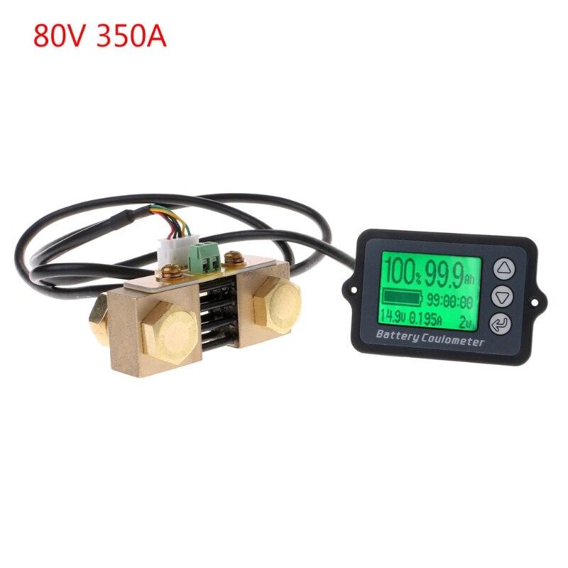 Testeur de batterie de précision 80 V 350A TK15 pour compteur de Coulomb LiFePO Coulomb coulomètre LCD w-store D21_D