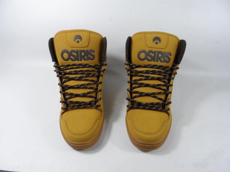 ФОТО OSIRIS US 12 10.5 Men Skate Boarding Shoe Flats Lace Up Yellow Color Clone Shoes Menwear