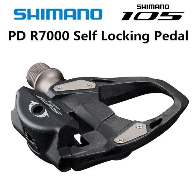 2018 NOUVEAU Shimano 105 PD R7000 CARBONE Route Vélo Auto-Verrouillage SPD Pédales Vélo Pédale avec SH11 Crampons