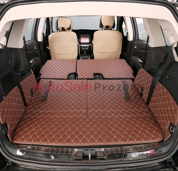 For Dodge Journey 7 seats 2013 2014 2015 2016 PU leather Rear Trunk Hatch Floor Mat