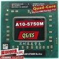 Доставка бесплатно AMD ноутбук Мобильный A10 5750 М A10-5750m QS/ES Socket FS1 ПРОЦЕССОРА 4 М Кэш/2.5 ГГц/Четырехъядерный процессор для GM45/PM45