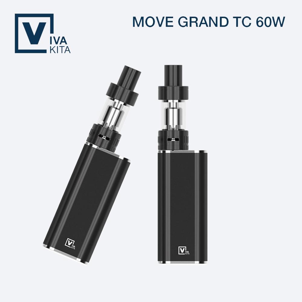 Kit de arranque de cerámica Vivakita Move Grand TC 80W 3.0ml con - Cigarrillos electrónicos