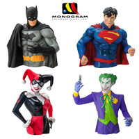 FUNKO POP DC Superman Bank Collection Batman Joker Action Figures Friends Boys Birthday Party Piggy Bank Save Money Toy Gift