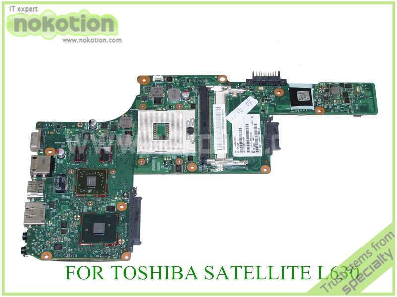 NOKOTION PN 1310A2338517 SPS V000245050 For toshiba satellite L630 Laptop motherboard HM55 ATI HD 5430 DDR3 nokotion 646176 001 laptop motherboard for hp cq43 intel hm55 ati hd 6370 ddr3 mainboard full tested