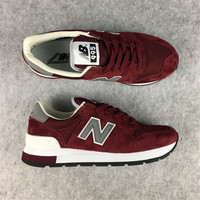 NEW BALANCE Women's Shoes Badminton Shoes N 995 Retro Shoes Men zapatillas mujer Running Shoes Breathable Sneaker For Women