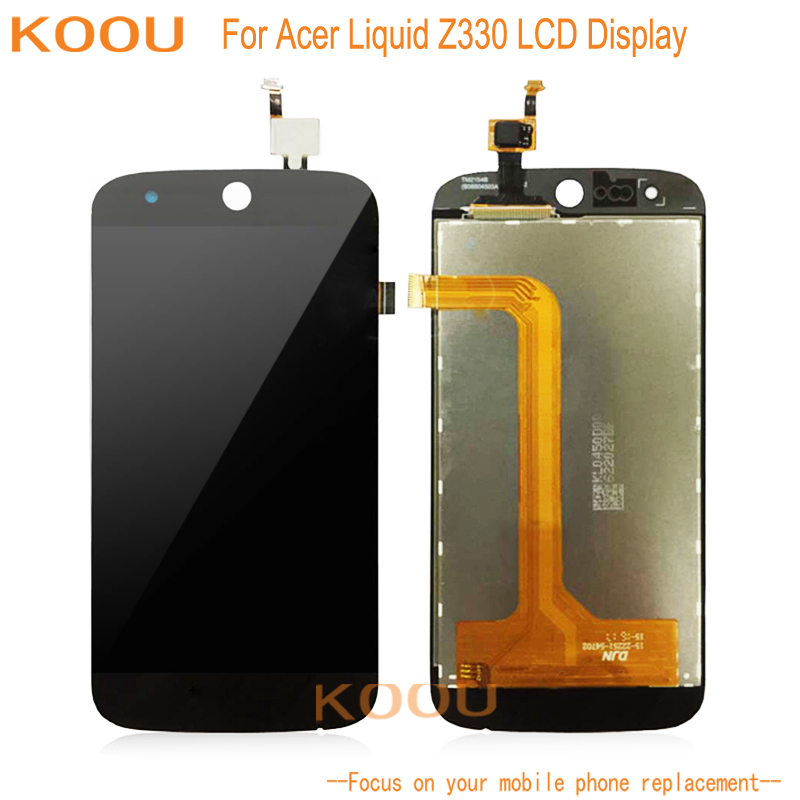 Pantalla LCD para Acer Liquid Z330 M330 M320 pantalla táctil dightizer Asamblea reemplazo para Acer Liquid Z330