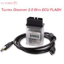 Newest Tactrix Openport 2.0 With ECU FLASH Tactrix Auto Chip Tuning Tool For OBD CAN ISO K-Line Protocols for Multi Brand Cars