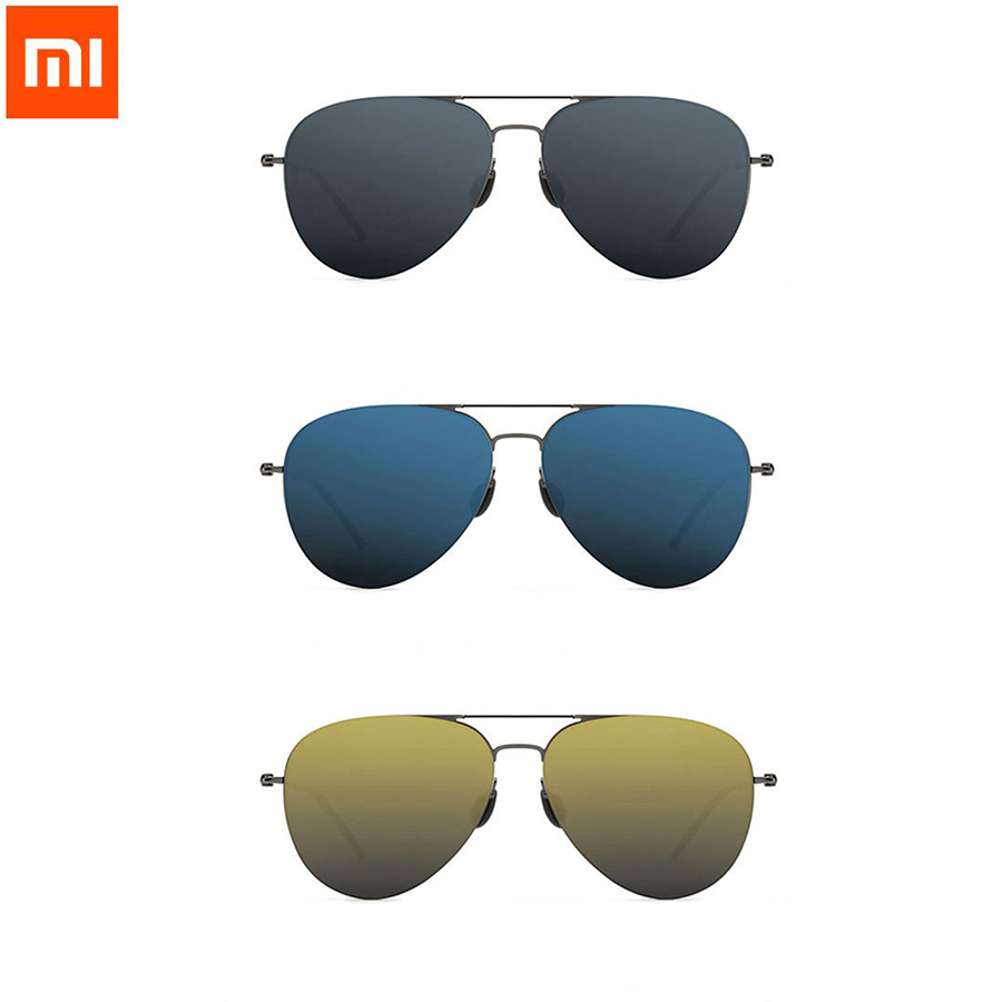 Original Xiaomi Mijia Turok Steinhardt TS Nylon Polarized Stainless Sunglasses Colorful RETRO 100% UV-Proof for Travel Man Woman in stock xiaomi turok steinhardt ts brand nylon polarized stainless sun lenses 18g edgeless 100