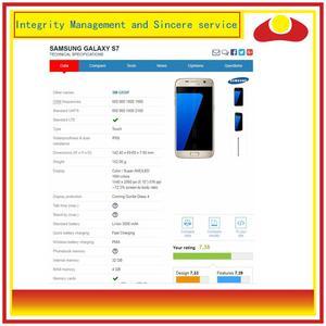 Image 2 - 10 יח\חבילה לסמסונג גלקסי S7 G930 SM G930F G930F LCD תצוגה עם מסך מגע Digitizer פנל Pantalla מלא