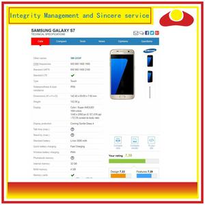 Image 2 - 10 teile/los Für Samsung Galaxy S7 G930 SM G930F G930F LCD Display Mit Touch Screen Digitizer Panel Pantalla Komplette