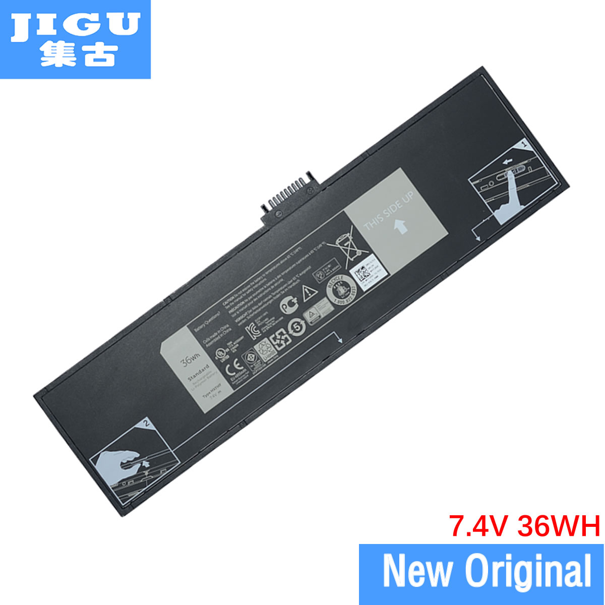 JIGU HXFHF Original Laptop <font><b>Battery</b></font> For <font><b>DELL</b></font> For Venue 11 Pro (7130) 11 Pro (7139) 11 Pro <font><b>7140</b></font> image