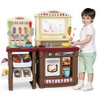 Многофункциональный 70 шт. детская Кухонные игрушки притворяясь имитация Пособия по кулинарии Еда Пластик Игрушечные лошадки торт овощей в