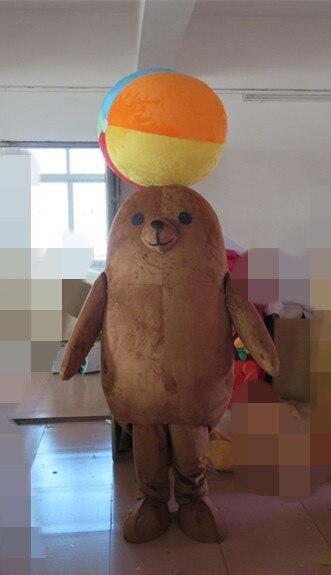 2019 costume animal de mer mascotte lion de mer costume thème fête costume école mascotte déguisements costumes vacances vêtements spéciaux