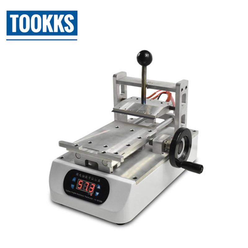 7 polegada 200 W Máquina de Remoção de Cola Removedor Polarizador LCD OCA para LCD Refurbish