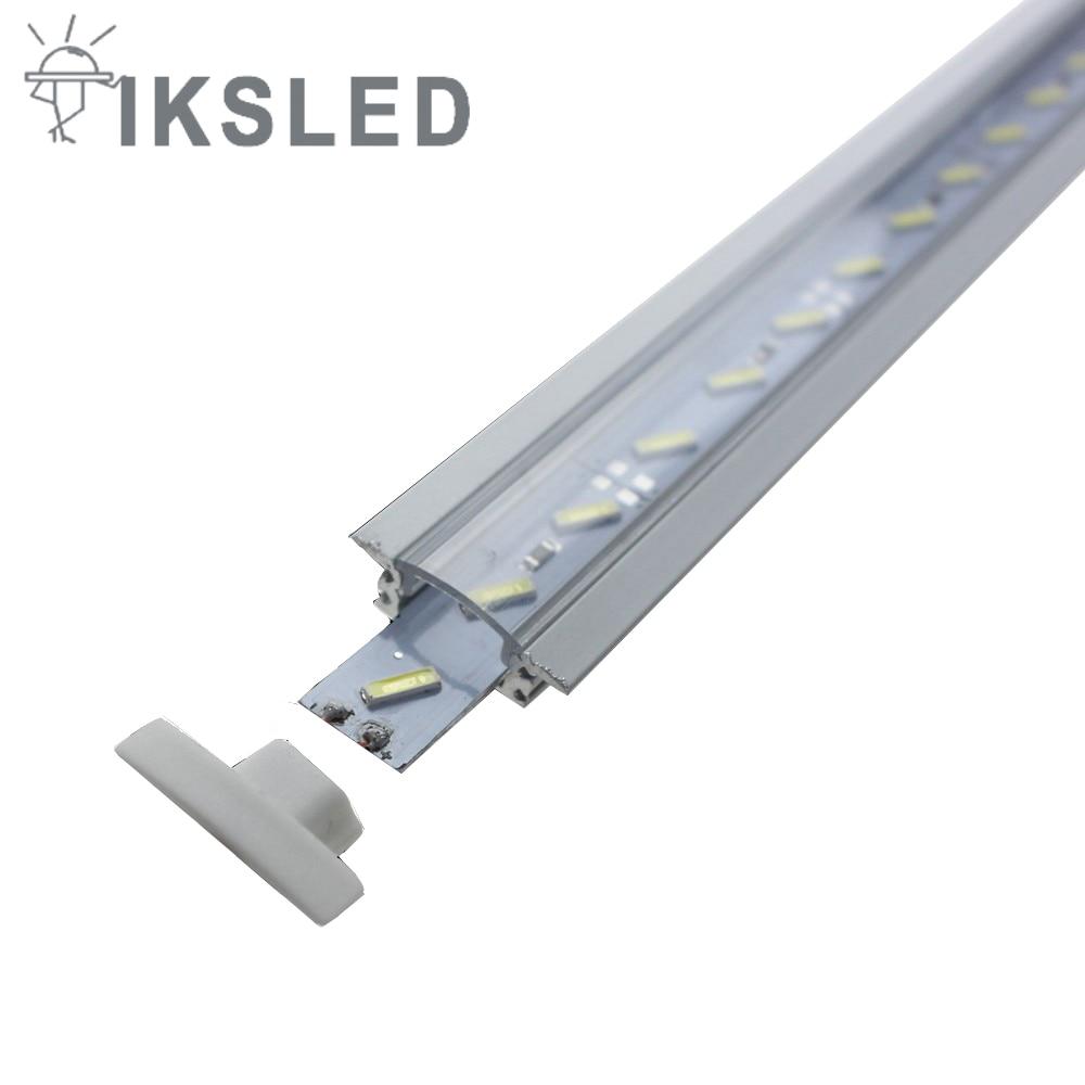 2pcs 5050 tegar yang diketuai jalur 50cm / pcs DC12V cahaya bar LED - Pencahayaan LED - Foto 6