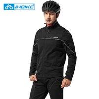 INBIKE Hiver Automne Vêtements de Cyclisme Équitation Costumes Vélo Hommes Manches Longues Veste Épaississement Coupe-Vent Équipement de Vélo de Montagne