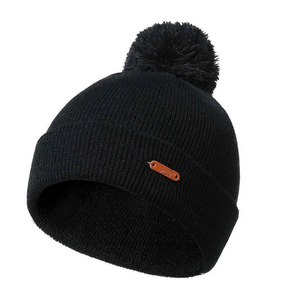 Detail Feedback Questions about Unisex Women Mens Knitted Winter Warm Hats  Oversized Ski Slouch Hat Cap Beanies Knitting wool ball knit cap on ... 57c5051207b