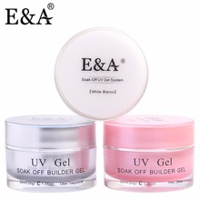E&A Professional UV Gel Strong Builder Gel For Extending Nail 30g(China)