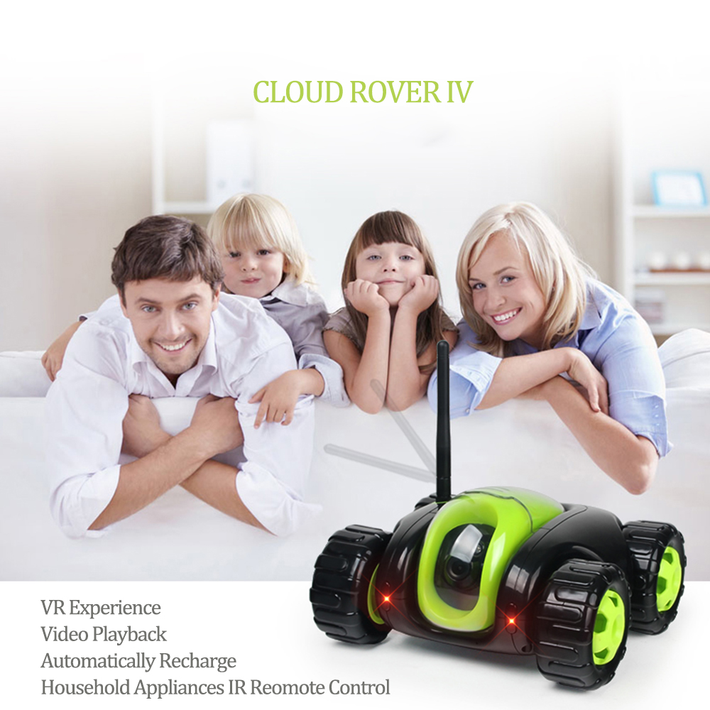 2017 Video RC Car SpyTank Real-time Video WIFI Remote Control Car Tank with HD Camera Controlled by Mobile Phone