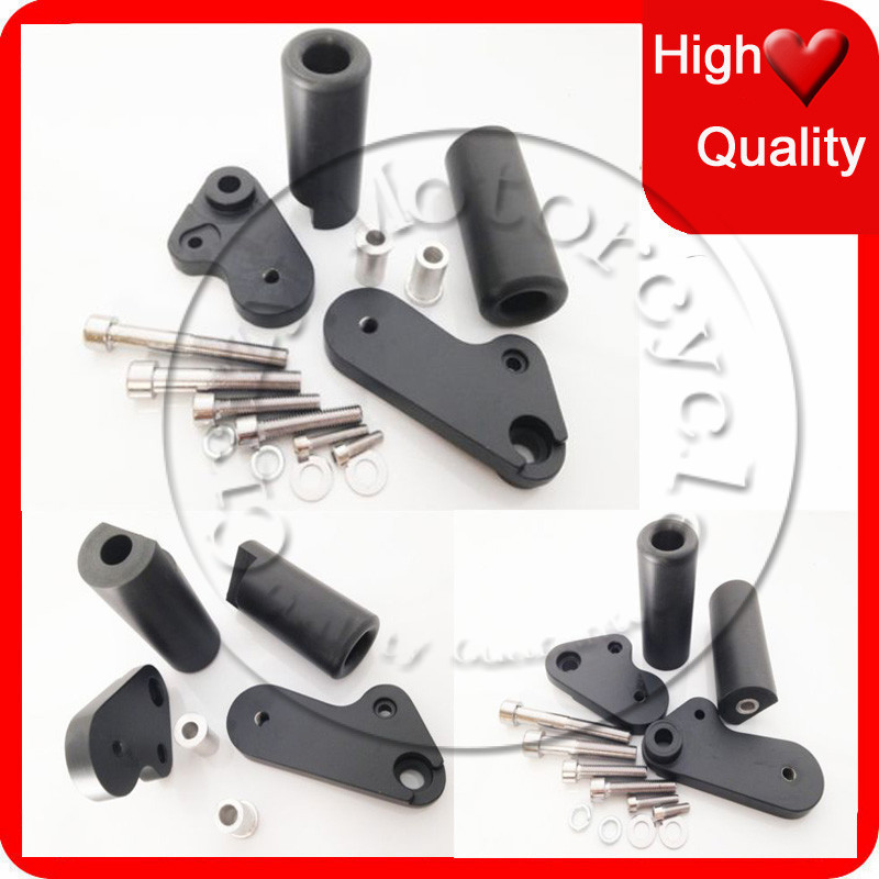 Motorcycle For Yamaha YZF-R1 YZFR1 2009 2010 2011 2012 2013 2014 2015 Black No Cut Frame Sliders crash Falling protection
