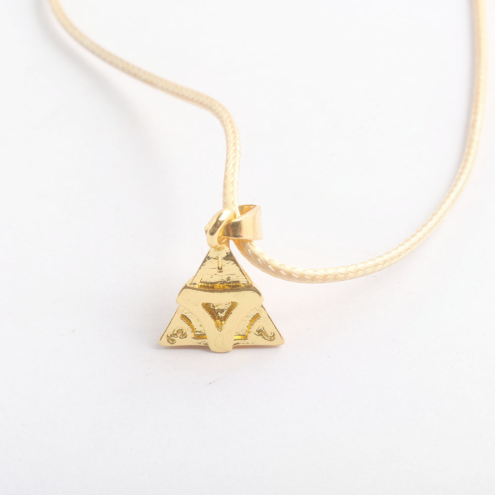 Chaîne Pendentif Chandail Chaîne lettre V Triangle Collier Bijoux Chaîne Longue