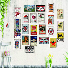 Motor oil Vintage Tin Sign shabby chic Metal Plate  Retro Garage Decorations For Home Wall Bar Art Poster 30X20CM SA-6942