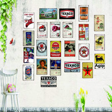 Motor oil Vintage Tin Sign shabby chic Metal Plate Retro Garage Decorations For Home Wall Bar Art Poster 30X20CM SA-6942(China)