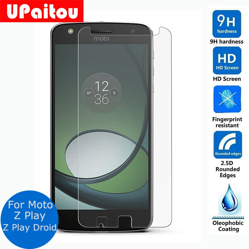 UPaitou Screen Protector For Motorola Moto Z Play Tempered