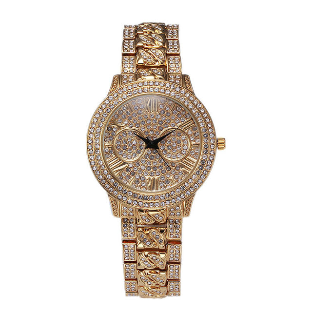 2016 New Women Quartz Watches! Luxury Rhinestone Watch Fashion&Casual Wristwatch