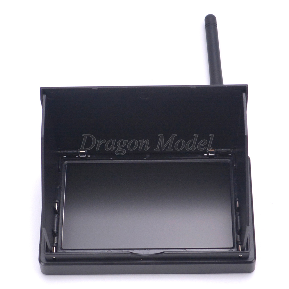 Image 3 - 4.3inch 48CH LCD 480 x 22 Wireless Receiver Monitor built in battery TS5828 48CH 600mW 700TVL 2.8mm PAL Camera For FPV Drone-in Parts & Accessories from Toys & Hobbies