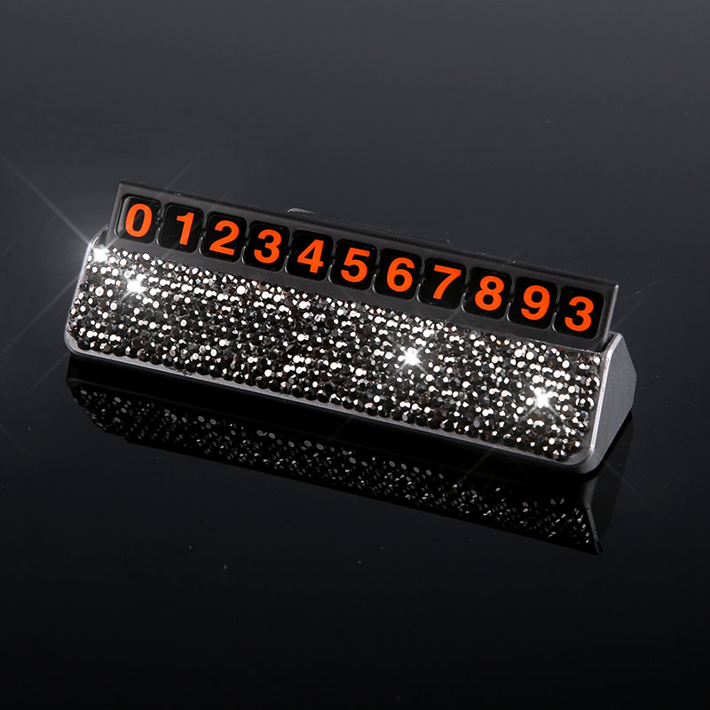Car-Styling-Crystal-Rhinestones-Temporary-Parking-Card-Phone-Number-Card-Plate-Telephone-Number-Card-Car-Sticker-5