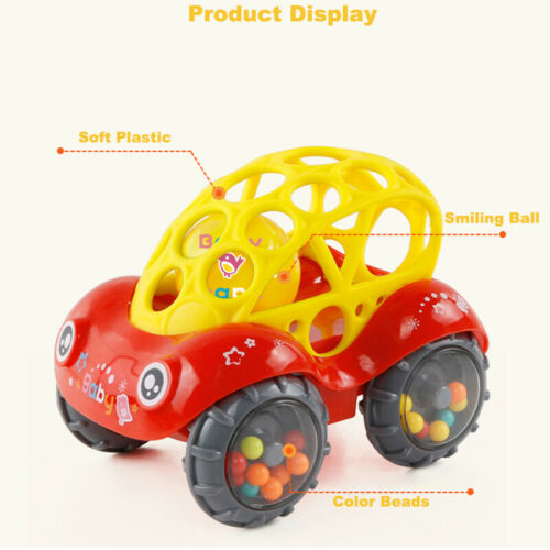 Image 5 - 2019 Brand 1 Piece Rattle and Roll Car, Assorted Colors O Ball Play Toy Kids Game Toddler Gift-in Diecasts & Toy Vehicles from Toys & Hobbies