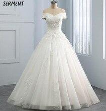 Bride White Travel Light Wedding Dress 2019 New Elegant Banquet Host Slim Lace Evening