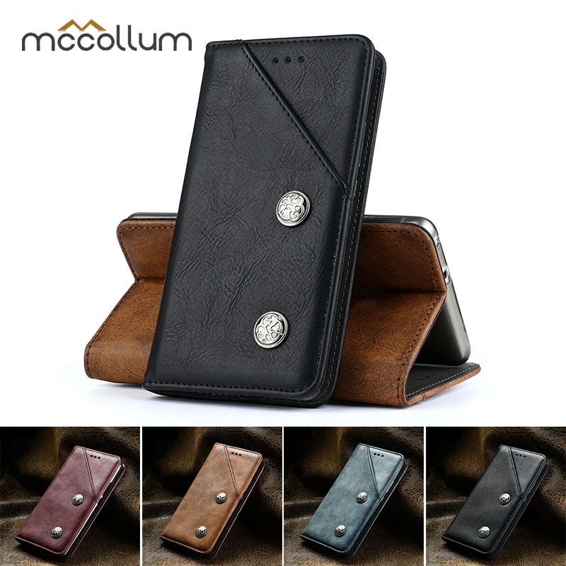 Wallet Vintage Case For Essential PH-1 Case Flip Magnetic PU Leather Cover For Elephone A4 A5 P8 Max Mini S7 Cover