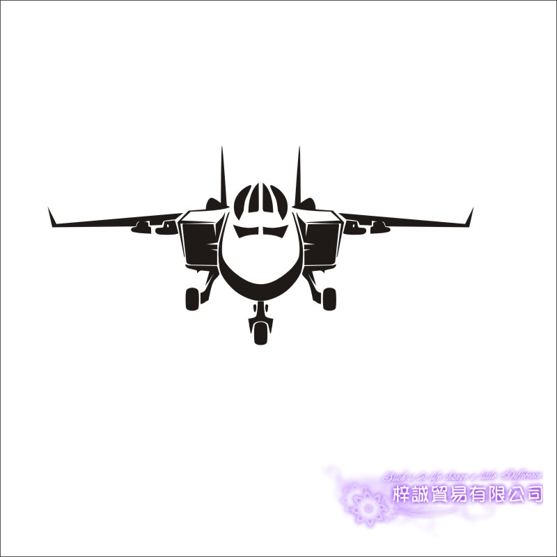 Airplane Sticker Vehicle Decal Classic Aircraft Posters
