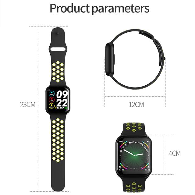 Smart Watch Bracelet IP67 Waterproof Heart Rate Monitor Blood Pressure Fitness Tracker Women Men Sport Wearable Watch F8 PK s226