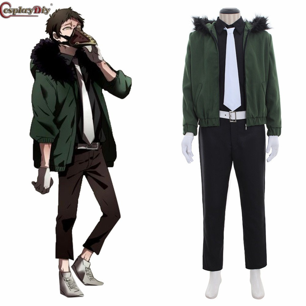 Boku no Hero Bakugou Akademia Kai Chisaki Shouto Cosplay Costume My Hero Academia Casual Jacket Shirt Pants Belt Custom Made J10