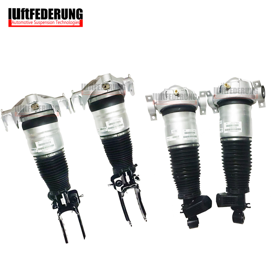 Luftfederung 2007-2010 2pcs Front+2pcs Rear Suspension Air Spring For 955 Audi Q7 VW Touareg 7L5616039E(40D) 7L8616020D(19F)