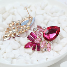 Fashionable Crystal Dangle Earrings