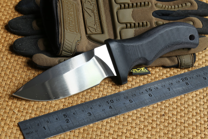 DICORIA XT MAD DOG A2 blade G10 handle fixed blade hunting knife KYDEX Sheath camping hunting survival outdoor knives EDC tools nighthawk slay vg 10 blade g10 handle fixed blade tactical hunting knife kydex sheath camping survival outdoors edc knives tools