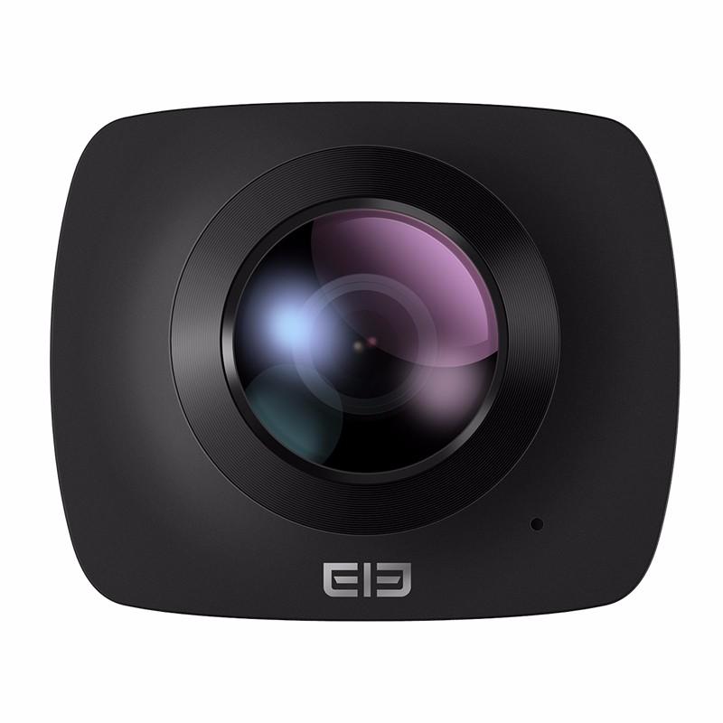 Prix pour À la mode Elephone ELECAM 360 Action Caméra Mini Caméra Vidéo Double Lentille 360 Degrés WIFI Panorama Sport Caméra Pour Drones