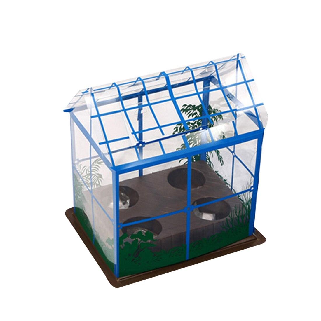 Surwish bricolage serre plantation équipement de laboratoire ensemble de luxe enfants populaire Science expérience équipement vapeur tige jouets