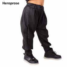 2018 New Fashion Kids Harem Hip Hop Dance Pants Children's Clothing Sweatpants Performance Costumes Baby sports Black trousers цены