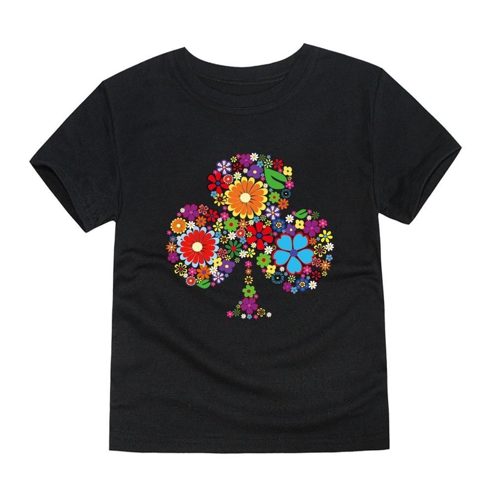 HTB1As IRFXXXXcBaXXXq6xXFXXX2 - TINOLULING 2018 Summer Kids Flower Tree T-Shirt Boys Girls Tree T Shirt Children Tops Baby Tees For 2-14 Years