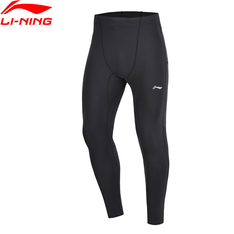 Sport & Unterhaltung Angemessen Li-ning Männer Laufende Serie Strumpfhosen Basis Schicht 78% Nylon 22% Spandex Engen Fit Komfort Futter Sport Hosen Aulp011 Jfm19