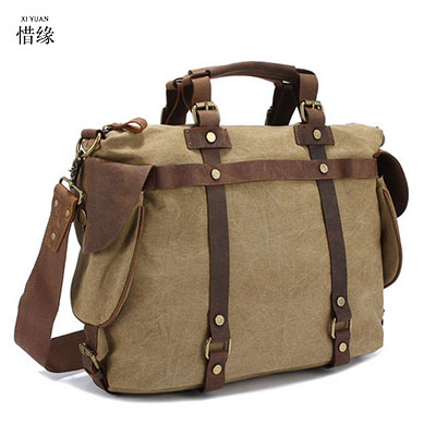 2017 New Multifunction Retro Man Canvas Bag Korean Male Fashion Messenger Bag Men's Casual Canvas Shoulder Crossbody Bag gifts man s casual canvas shoulder bag messenger bag coffee white