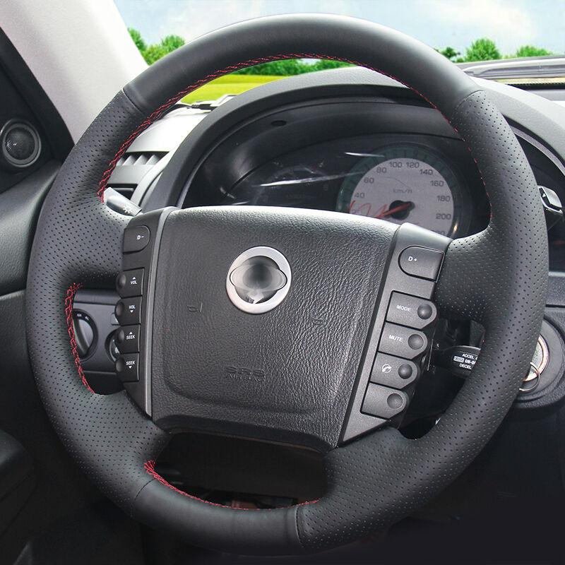 BANNIS қара жасанды былғары DIY Ssangyong Rexton - Автокөліктің ішкі керек-жарақтары - фото 3
